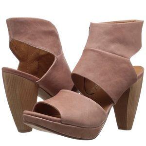 COCLICO Fire leather platform heeled sandal EUR 41